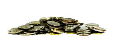 Münzenfleck Lizenzfreie Stockfotos