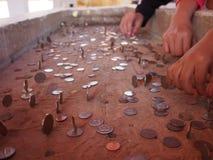 Münzengebäude Stockbild