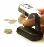 Münzenmontieren Stockbilder