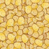 Münzenmuster lizenzfreie stockfotografie