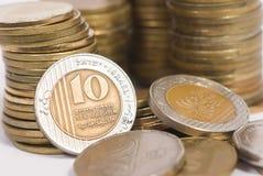 Münzenschatz Stockbild