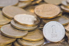 Münzenschatz Lizenzfreie Stockbilder