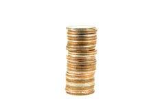 Münzenstapel Lizenzfreies Stockbild