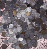 Münzsammlungen Lizenzfreies Stockbild