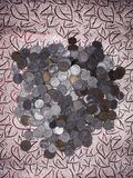 Münzsammlungen Lizenzfreie Stockfotografie