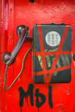 Münztelefon Stockfoto