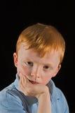 Mürrisches Kind Lizenzfreies Stockbild