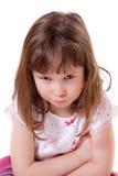 Mürrisches kleines Mädchen Stockfotos
