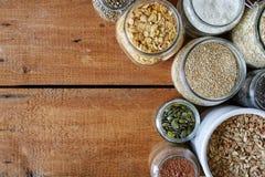 Müsliriegelstrecke der gesunden Getreide Lizenzfreies Stockbild