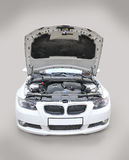 Mütze BMW-335i geöffnet lizenzfreies stockbild