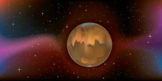 mąci planetę Zdjęcia Royalty Free