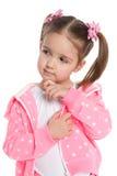 Mądra preschool dziewczyna obrazy stock