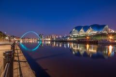 Mądry Gateshead, Newcastle Obrazy Royalty Free
