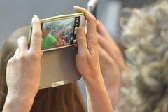 Mądrze telefon, atlety, obrazek Obrazy Stock