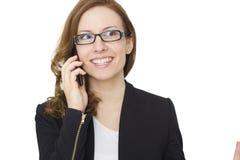Mądrze telefon komunikacja - Akcyjny wizerunek obrazy stock