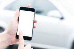 Mądrze telefonu i samochodu usługa Zdjęcie Royalty Free
