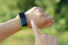 Mądrze zegarek Zdjęcie Stock