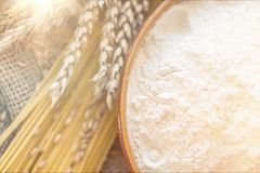 Mąka fotografia stock