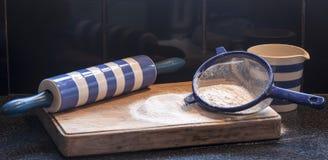 Mąka dla pieczenia obraz royalty free