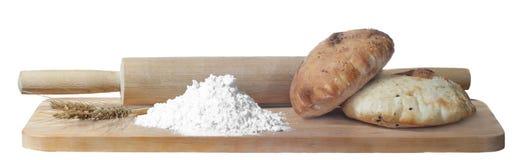 Mąka i chleb zdjęcie royalty free