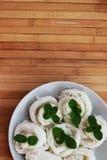 Mąka klusek kanom Jeen który jest wciąż bez kumberlandu Fotografia Stock