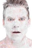 Mąka mężczyzna Zdjęcie Stock