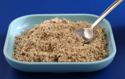 mąka migdałowy posiłek Zdjęcia Stock