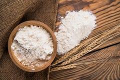 Mąka od durum banatki obraz stock