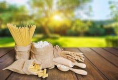 Mąka produkty fotografia royalty free