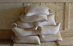 Mąka worki fotografia stock