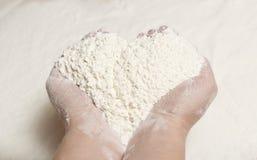 mąki garść Obrazy Stock