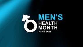 Mężczyzn zdrowie miesiąca plakat i sztandar kampania - projektuje ilustrację Pomy?lno?ci poj?cie royalty ilustracja