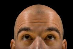 mężczyzna łysy główkowanie Obraz Stock