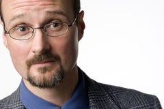 mężczyzna łysy portret Zdjęcia Stock