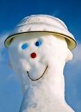 mężczyzna śnieg Fotografia Stock
