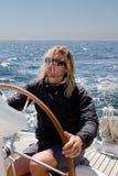 mężczyzna żeglowanie zdjęcie royalty free