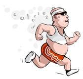 mężczyzna (1) nadwaga Fotografia Stock