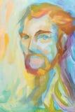mężczyzna abstrakcjonistyczny portret ilustracja wektor