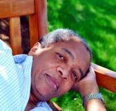mężczyzna, afroamerykanin Obraz Royalty Free