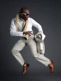 mężczyzna, afroamerykanin young Fotografia Royalty Free