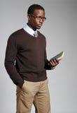 mężczyzna, afroamerykanin young Zdjęcie Stock