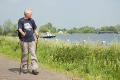 mężczyzna aktywny senior Zdjęcie Royalty Free