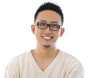Mężczyzna azjatycki portret zdjęcia stock