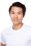 mężczyzna azjatykci uśmiech Obraz Royalty Free