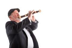 Mężczyzna bawić się pisaka Fotografia Royalty Free