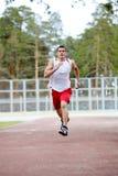 mężczyzna bieg Zdjęcia Stock