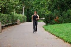 mężczyzna biegacz Fotografia Stock