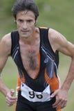mężczyzna biegacz Zdjęcia Royalty Free