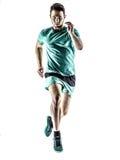 Mężczyzna biegacza jogger bieg Obraz Stock