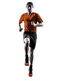 Mężczyzna biegacza jogger bieg jogging skakać Fotografia Stock